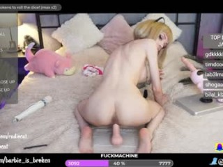 barbie_is_broken broadcast anal fucking sessions with tight little asshole getting stretched out