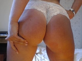 mashulya29 has a collection of slutty stockings that she loves putting on during her masturbation