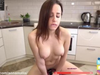 annamalia broadcast cum shows featuring this hottie shamelessly getting an incredible orgasm