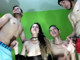 fiotti broadcast private shows with an insane amount of hardcore XXX twisted sex games